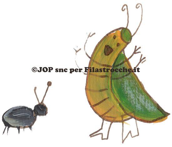 formicuzza e il grillo