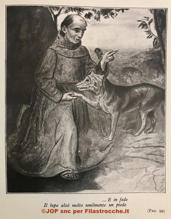 San francesco e il lupo di angiolo silvio novaro filastrocche