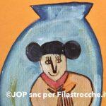 Dentro un vaso di porcellana