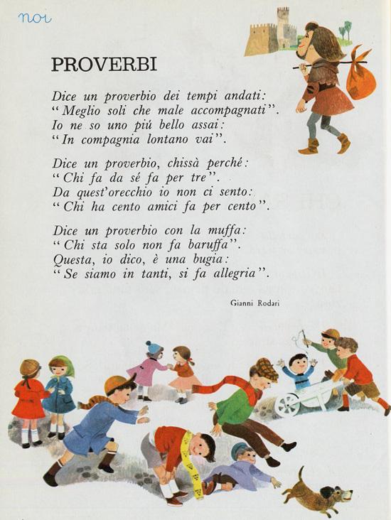 Proverbi Filastrocca Di Gianni Rodari Filastroccheit