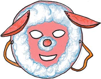 Maschera da agnellino