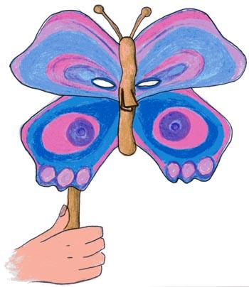 Creiamo Le Maschere Di Carnevale Maschera Da Farfalla