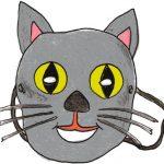 Maschera da gatto