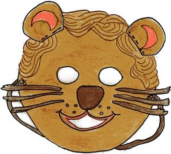 Maschera da leone
