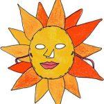 Maschera da sole