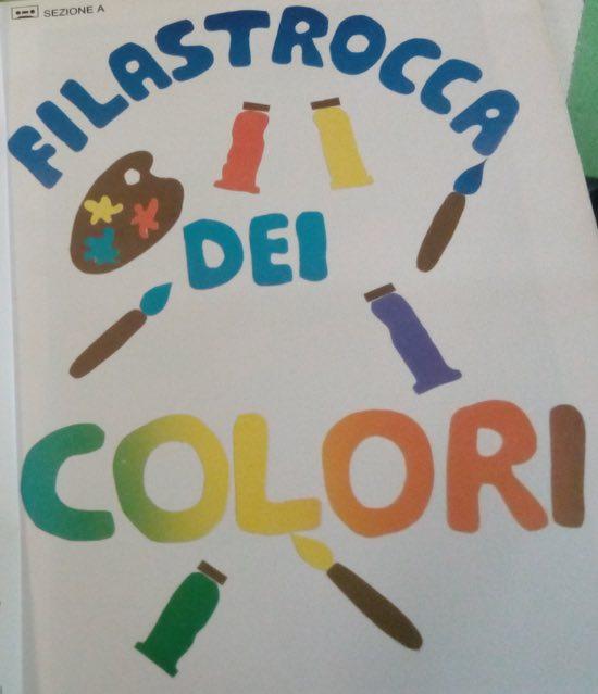 Canzone dei colori della maestra pina da napoli for Maestra nella il libro dei colori