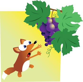 volpe e l'uva