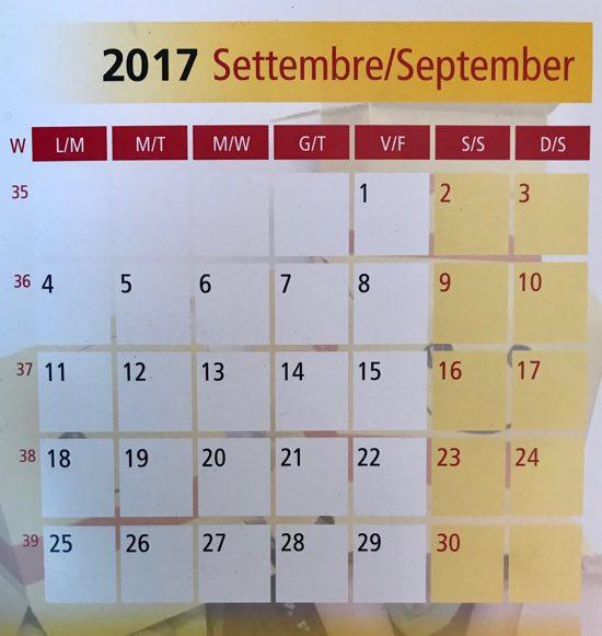 mesi dell'anno