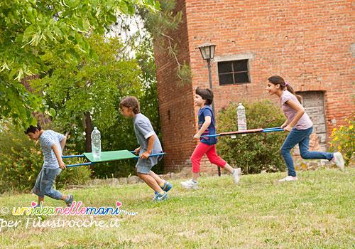 gioco all'aperto per bambini