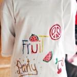 Una maglietta come gadget per un party #esperienzacreativa