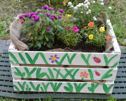 Creiamo vasi da giardino esperienzacreativa i testi for Vasi di legno