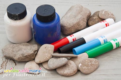 sassi da colorare