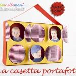 Lavoretto Festa dei Nonni: Casetta Portafotografie