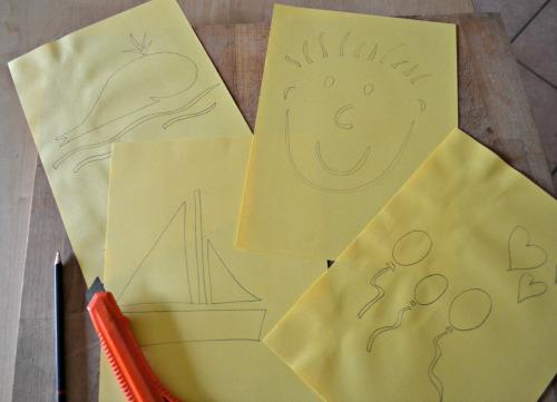 A un bambino pittore