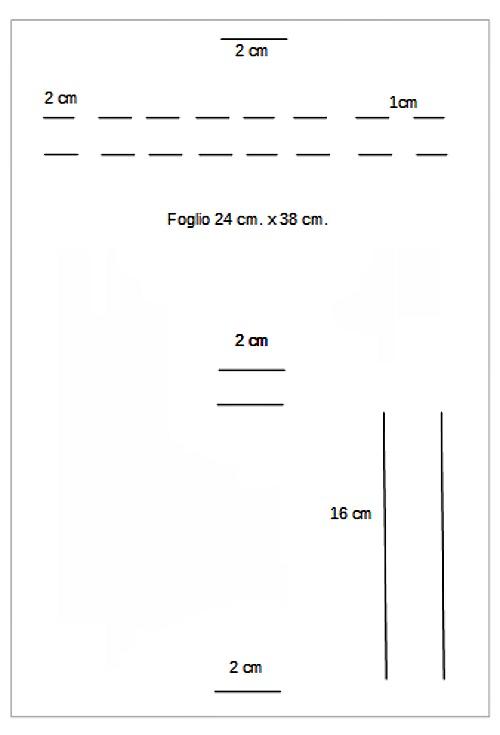 schema misure astuccio crayola