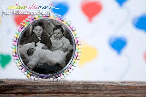 Lavoretto Festa dei Nonni portafoto