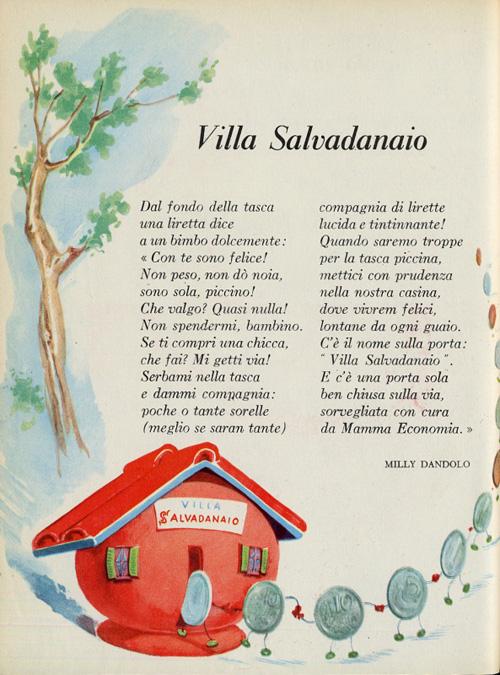 Villa salvadanaio