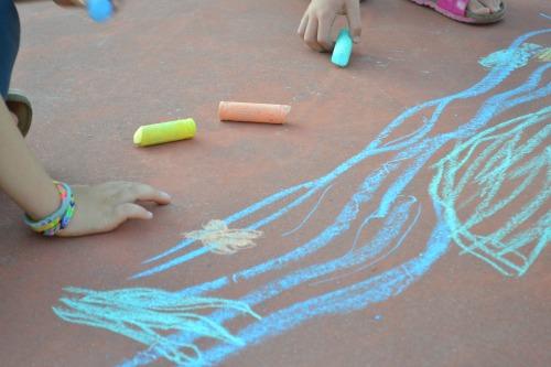 colorare con i gessetti