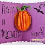 Biglietti invito Halloween per bambini
