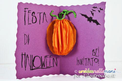 biglietto invito halloween party