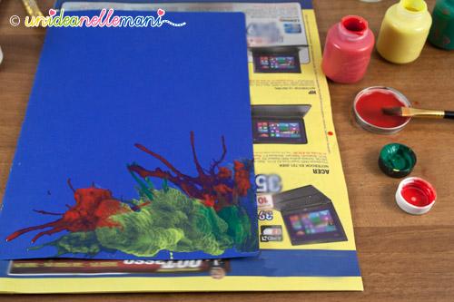 colorare copertina quaderno