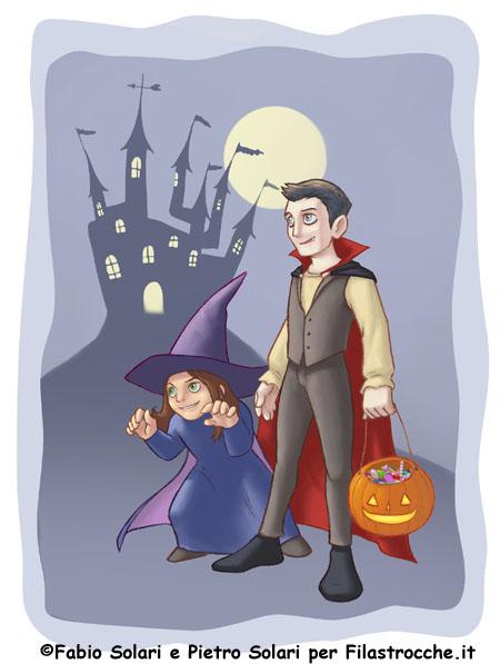 Halloween è alle porte - I testi della tradizione di Filastrocche.it cba4d75109f0