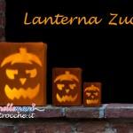 Lanterne di Halloween fai da te a forma di Zucca