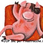 La protesta del maialino