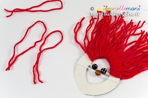 Decorazioni Di Natale Per Bambini Babbo Natale Di Lana