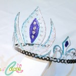 Corona di Elsa fai da te con #esperienzacreativa