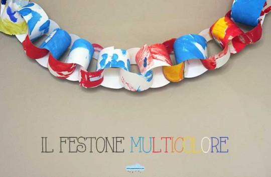 festone multicolore