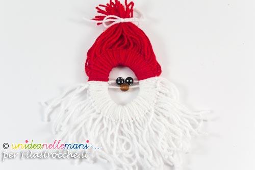Babbo Natale Lavoretti.Decorazioni Di Natale Per Bambini Babbo Natale Di Lana