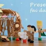 Natale fai da te: presepe per bambini da costruire