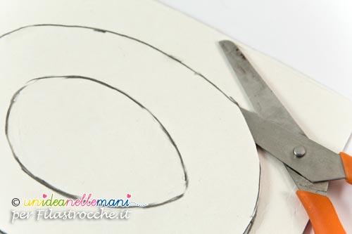 tagliare cartoncino