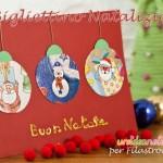 Lavoretti natalizi per bambini: bigliettino di auguri