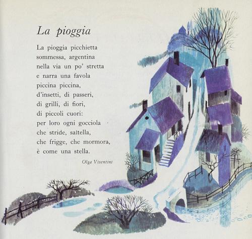 La Pioggia Di Olga Visentini Poesie Dautore Su Filastroccheit