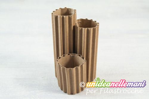 vasi di cartone