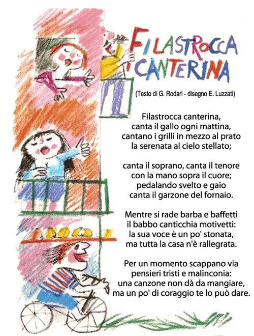 Filastrocca canterina - I testi della tradizione di Filastrocche.it