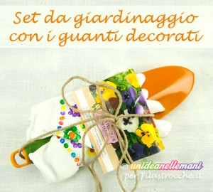 Lavoretto-Regalo per i Nonni: i guanti da giardinaggio decorati dai bambini