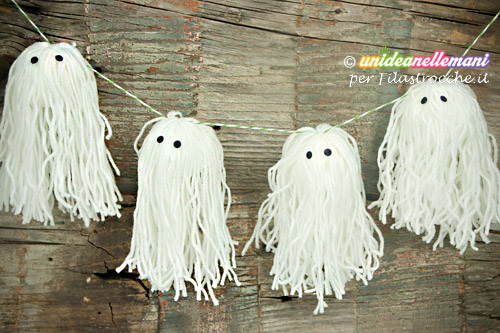 fantasmi lana halloween