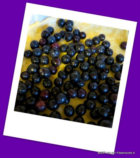 focaccia uva fragola