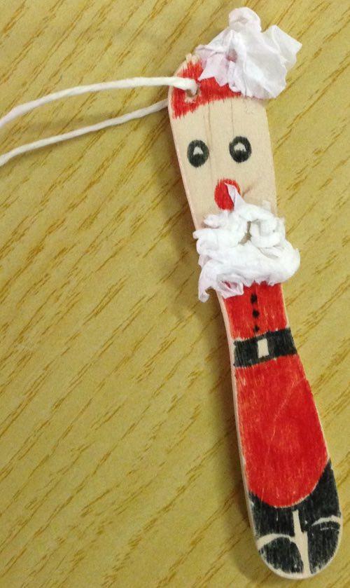 Addobbi natalizi fai da te mini babbo natale for Fai da te oggetti