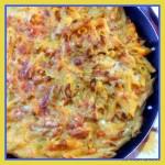 Pasta al forno rock di zucca e carote al rosmarino