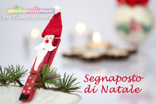 Lavoretti Di Natale Con Le Mollette Da Bucato.Segnaposto Di Natale Per Bambini Con Le Mollette Di Legno