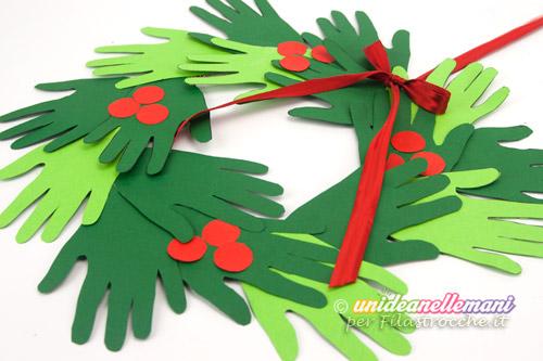 Lavoretti Di Natale Ghirlande Per Bambini.Come Fare Una Bella Ghirlanda Di Natale Per Bambini I Testi Della