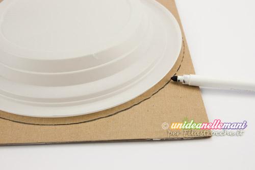 piatto di carta e cartone
