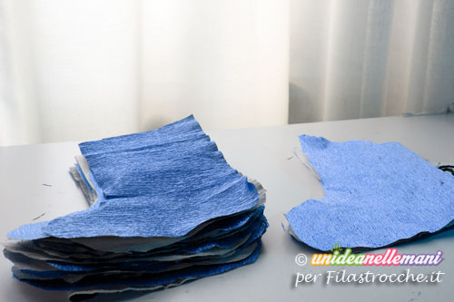 calze befana di carta