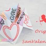 Origami di San Valentino: il biglietto-gioco per bambini