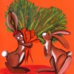 Un mazzo di carote