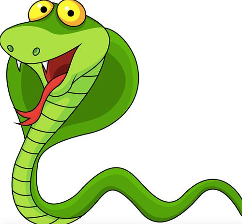 Come è nato il bel serpente